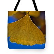 Gingko Leaf Losing Chlorophyll Tote Bag