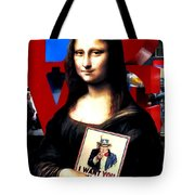 Gioconda Travelling - Usa Tote Bag
