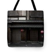 Gion Geisha District Of Kyoto Japan Tote Bag