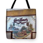Giordanos Pizza Chicago Tote Bag