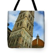 Giotto Campanile Tower In Florence Italy Tote Bag