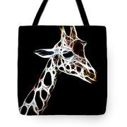 Giraffe Art Tote Bag
