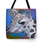 Giraffe - Baby Announcement Tote Bag by Ella Kaye Dickey
