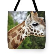 Giraffe Beauty Tote Bag