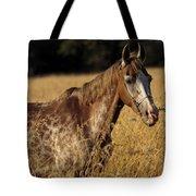 Giraffe Horse Tote Bag