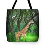 Giraffe In Florida Tote Bag