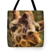 Giraffe Photo Art 01 Tote Bag