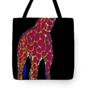 Giraffe Pop Art Tote Bag
