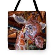 Giraffe Ride Tote Bag