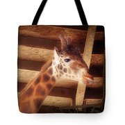 Giraffe Smarty Tote Bag