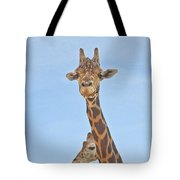 Behind Every Great Male Tote Bag
