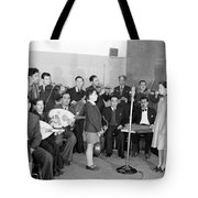 Girl And Boy Soloists Tote Bag
