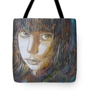 Girl By C215 Tote Bag