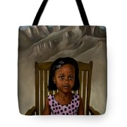 Girl From The Mountain Kingdom Tote Bag