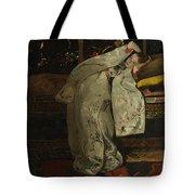 Girl In A Kimono Tote Bag
