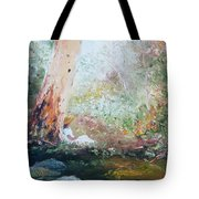Girl In A White Dress Tote Bag