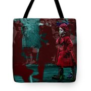 Girl In The Blood-stained Coat Tote Bag