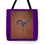 Girl In The Moon Tote Bag