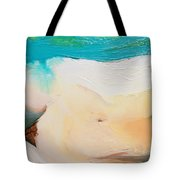 Girl On Side Tote Bag