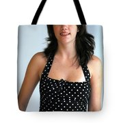 Girl On The Go Tote Bag
