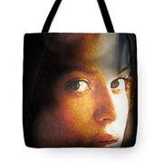 Girl Sans Variant Tote Bag
