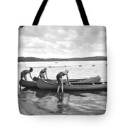 Girl Scout Canoe Test Tote Bag
