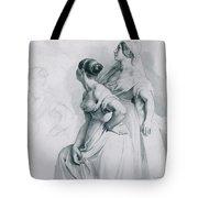 Girl Studies  1839 Tote Bag