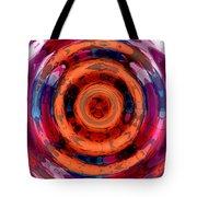 Girl Whirl Tote Bag