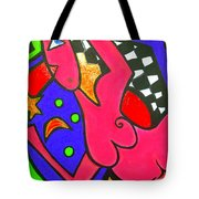 Girl With A Dimple Tote Bag