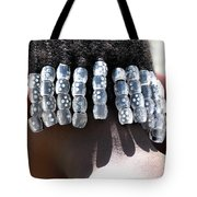 Girl With Beaded Hair Tote Bag
