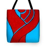 Girl With Celtic Hair Tote Bag