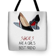 Girl's Best Friend Tote Bag