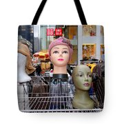 Girls In Hats Tote Bag