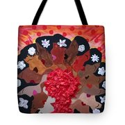 Girls On Fire Tote Bag