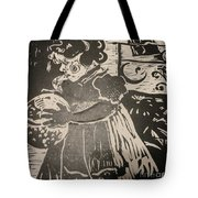 Girl's Play Tote Bag by PainterArtist FINs husband Maestro