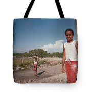 Girls Without Playground Tote Bag