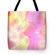 Girlz Only Abstract Tote Bag
