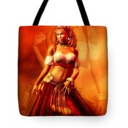 Gitana Tote Bag by Carol Cavalaris