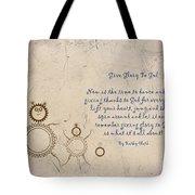 Give Glory To God Tote Bag