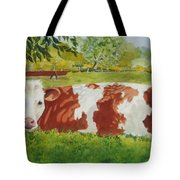 Give Me Moooore Shade Tote Bag by Mary Ellen Mueller Legault