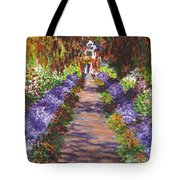 Giverny Gardens Pathway After Monet  Tote Bag