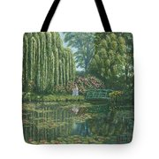 Giverny Reflections Tote Bag