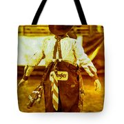 Gizmo The Rodeo Clown Tote Bag