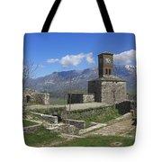 Gjirokaster Castle Albania  Tote Bag