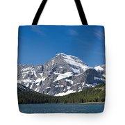 Glacier National Park Mountain Tote Bag