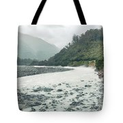 Glacial River Tote Bag