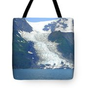 Glacial Spillover Tote Bag