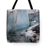 Glacial Waters Tote Bag