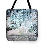 Glacier Calving Margerie Tote Bag