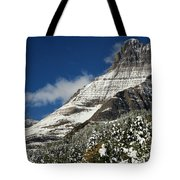 Glacier Mountains Tote Bag